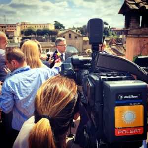 camera man in Poland fixer